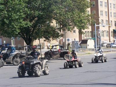 ATVs in Shamokin